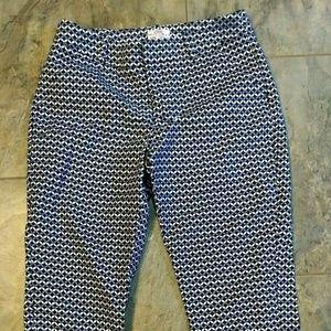Merona Womens Capri Pant Size 6